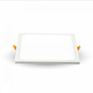 LED panel χωνευτό 15W 3000K Θερμό λευκό Τετράγωνο