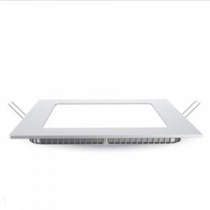LED panel χωνευτό 18W 3000K Θερμό λευκό Τετράγωνο
