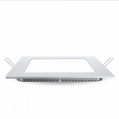 LED panel χωνευτό 24W 3000K Θερμό λευκό Τετράγωνο