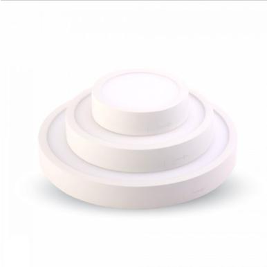 LED panel επιφανειακό 6W 4000K Φυσικό λευκό Στρογγυλό