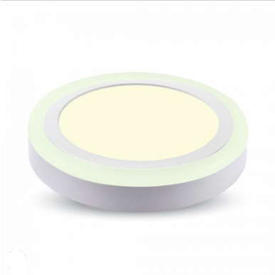 LED panel επιφανειακό 15W 4000K Φυσικό λευκό Στρογγυλό