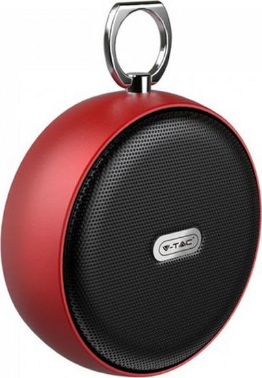 Ηχείο φορητό Bluetooth κόκκινο 800mAh