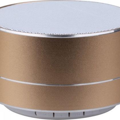 Mini ηχείο φορητό Bluetooth χρυσό 400mAh