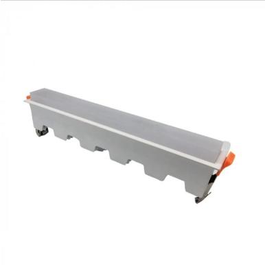 LED panel γραμμικό 20W 6400K Λευκό με λευκό σώμα