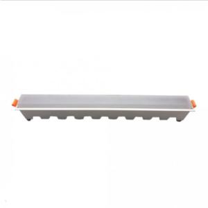 LED panel γραμμικό 30W 6400K Λευκό με λευκό σώμα