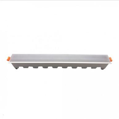 LED panel γραμμικό 30W 3000K Θερμό λευκό με λευκό σώμα