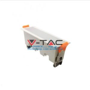LED panel γραμμικό flat 10W 3000K Θερμό λευκό με λευκό σώμα