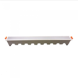 LED panel γραμμικό flat 30W 4000K Φυσικό λευκό με λευκό σώμα