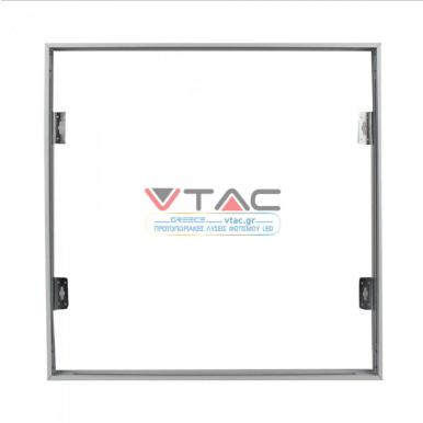 Εξωτερικό πλαίσιο στήριξης LED Panel 60×60 με βίδες λευκό