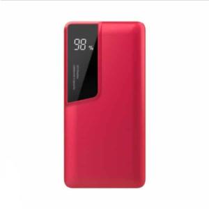 Power Bank 10000mAh με κόκκινο σώμα USB Type-C