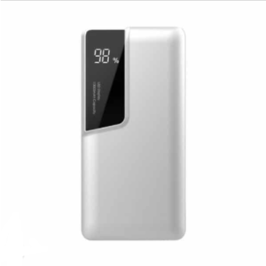 Power Bank 10000mAh με λευκό σώμα USB Type-C