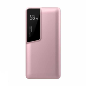 Power Bank 10000mAh με ροζ σώμα USB Type-C