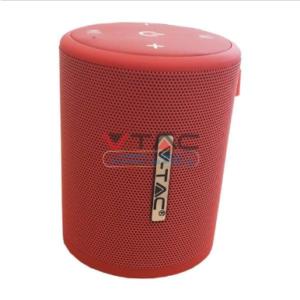 Ηχείο φορητό Bluetooth κόκκινο 1500mAh