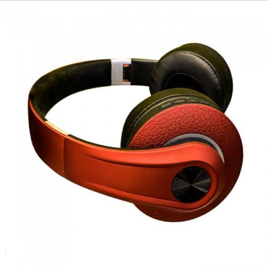 Bluetooth ασύρματα ακουστικά, σε κόκκινο χρώμα – 500mah με ρυθμιζόμενο διπλό headband για άνετη εφαρμογή γύρω από το κεφάλι