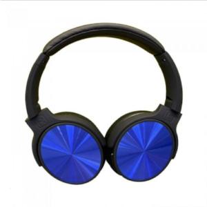 Bluetooth ασύρματα ακουστικά, σε μπλέ χρώμα – 500mah με rotatable head