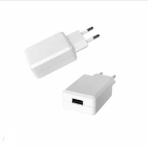 Ταχυφορτιστής ταξιδίου USB QC3.0, Λευκό σώμα, σε συσκευασία blister
