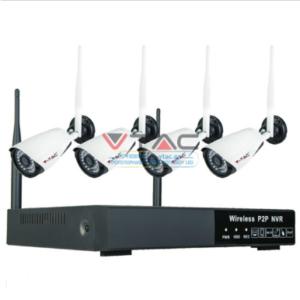 Σετ WiFi Camera εσωτερικού χώρου 1080p NVR