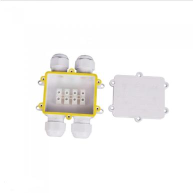 Αδιάβροχο κουτί προβολέων διπλό σε διπλό λευκό σώμα IP68