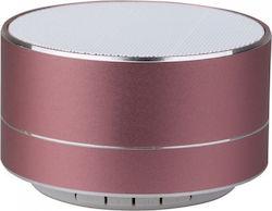 Mini ηχείο φορητό Bluetooth ροζ χαλκός 400mAh