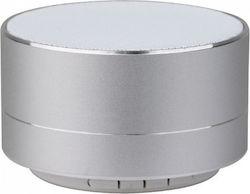 Mini ηχείο φορητό Bluetooth ασημί 400mAh