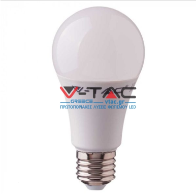 Λάμπα LED E27 A60 Samsung Chip SMD 8.5W Θερμό λευκό 3000K A++ High Lumens
