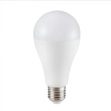 Λάμπα LED E27 A65 Samsung Chip SMD 17W Φυσικό λευκό 4000K