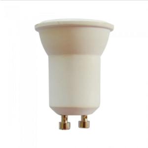 Λάμπα LED Spot GU10 Samsung SMD 2W θερμό λευκό 3000K λευκό σώμα 38°