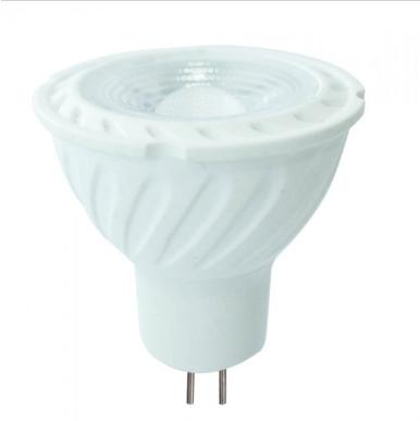 Λάμπα LED Spot MR16 Samsung chip SMD 6.5W φυσικό λευκό 4000K λευκό σώμα 38°