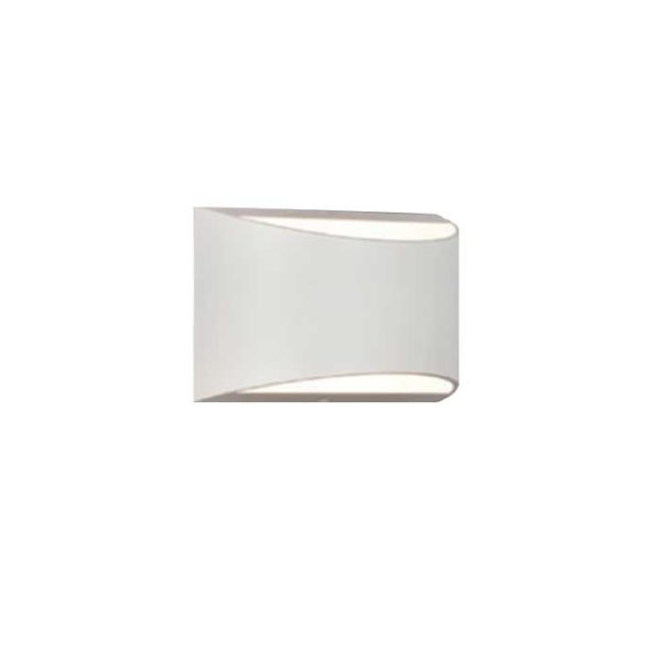 Επιτοίχιο LED φωτιστικό UP-DOWN 10W IP54 λευκό σώμα 4000K