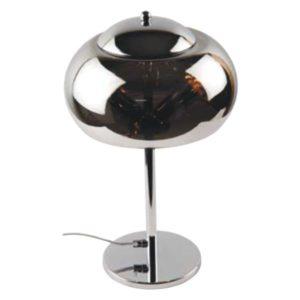 Φωτιστικό επιτραπέζιο πορτατίφ μεταλλικό χρώμιο Ε14 Φ250mm 118/P