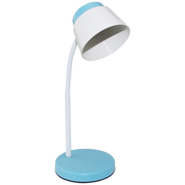 Φωτιστικό Γραφείου Led 5w Γαλάζιο-Λευκό