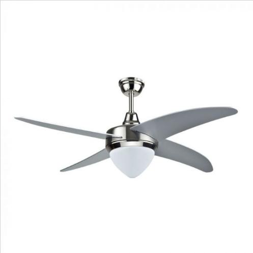 Ανεμιστήρας οροφής LED 60W 4 πτερυγίων με ρύθμιση μέσω RF control